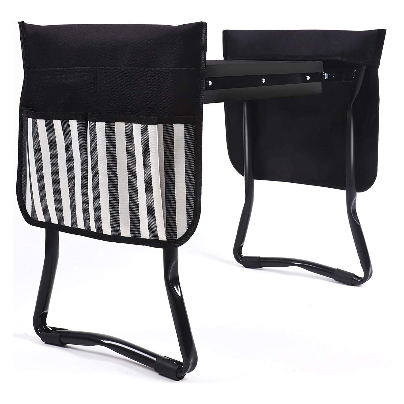 Folding Garden Kneeler Seat Tool Bag Portable Tool Storage Bag Pouch For Knee Stool Gardening Tools Storage Pouch Tool Kit