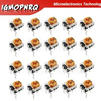 20 piezas-potenciómetro WH06-2C, 100, 200, 1K, 2K, 5K, 10K, 20K, 50K, 500K, 100K, 200K, 1M ohm, resistencias variables, WH06