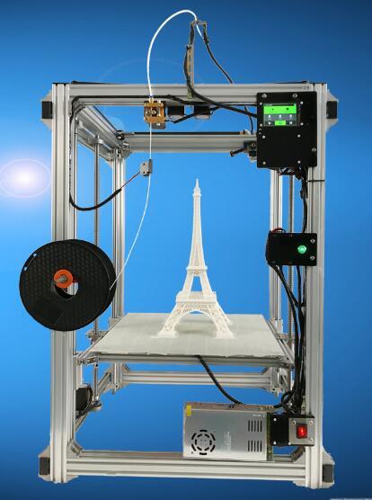 Large size high precision reinforced 3d printer rapid prototyping machine corexy 3D Printers     - title=
