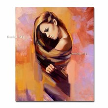 Wall art Hand painted abstract sexy nude girl oil painting modern naked women figure picture canvas home decor pictures