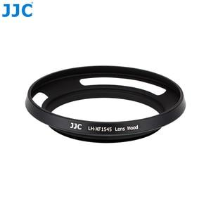 Image 5 - JJC Camera Schroef Adapter Ring 52mm Metalen Zonnekap Voor Fujifilm X T100 XC15 45mm F3.5 5.6 OIS PZ Lens
