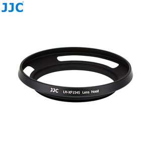 Image 5 - JJC cámara de anillo adaptador 52mm parasol de lentes de metal para Fujifilm X T100 XC15 45mm F3.5 5.6 io PZ lente