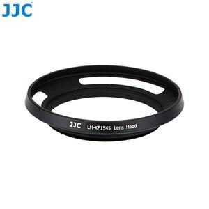Image 5 - Jjcカメラネジアダプターリング52ミリメートル金属レンズフード用富士フイルムX T100 XC15 45mm f3.5 5.6 ois pzレンズ