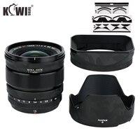 Filme protetor de lente anti-risco para fujinon xf16mm f1.4 r wr lens & fujifilm LH-XF16 capa de lente pele 3 m stikcer sombra preto