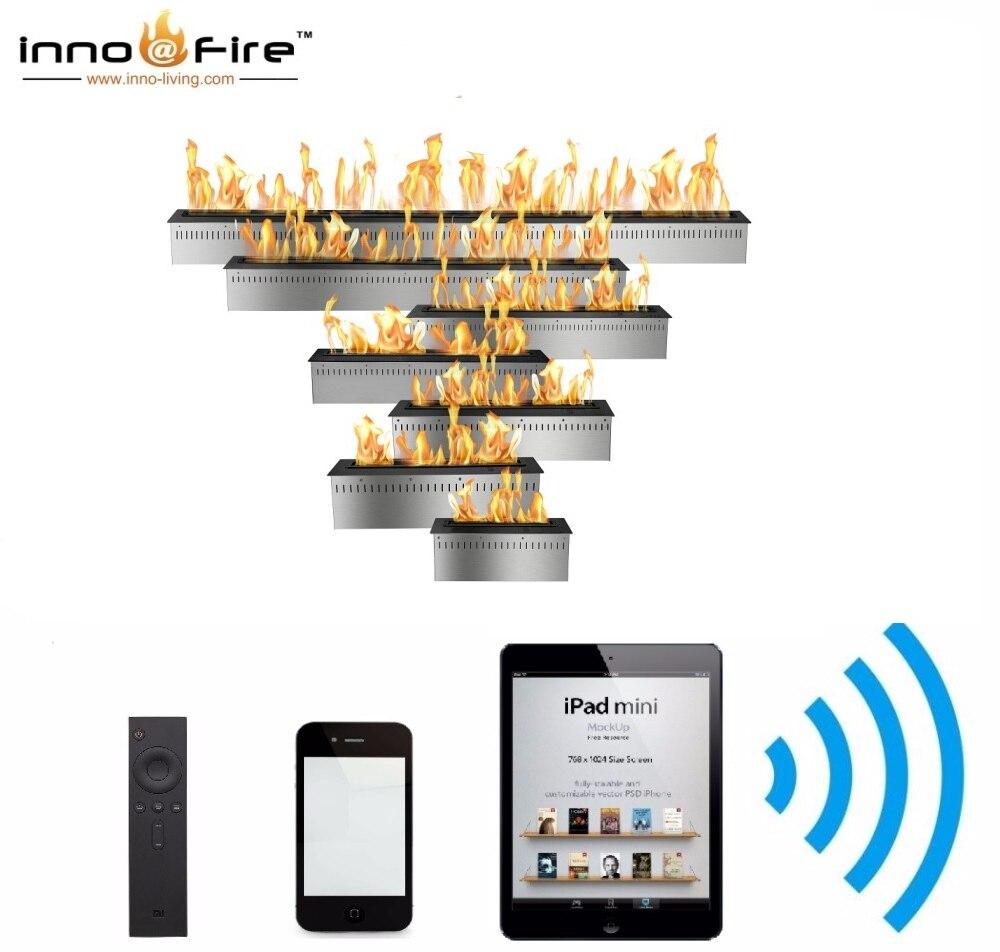 Inno Living  60 Inch  Remote Control Bio Ethanol Fireplace