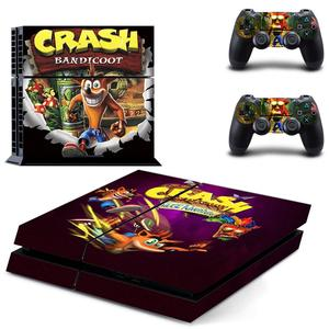 Image 5 - Crash Bandicoot N Sane Trilogy PS4 Stickers Play station 4 Skin Sticker Decal For PlayStation 4 PS4 Console & Controller Skins