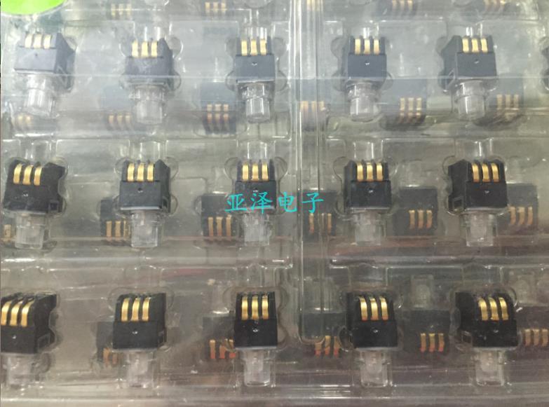 20 unids/lote Interruptor táctil de luz American K5V1BA43T P3, con botón de luz LED de doble color, lámpara amarilla/azul vertical de 5 pies - 2
