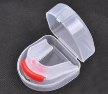 Novo gel de sílica dentes proteção bruxismo boxe basquete esporte boca guarda