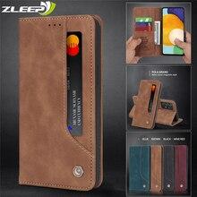 Flip Leather A22 A82 A32 A52 A72 Case For Samsung Galaxy A02 A12 A42 A51 A71 A21 A41 A31 A70 A50 A40 A20 A10 M51 M31 M30 S Cover