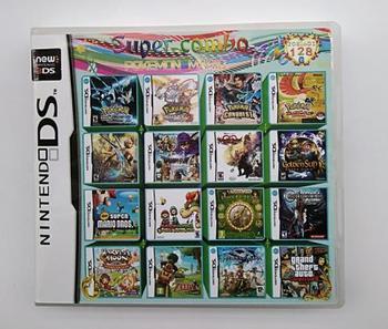 Kompilacja 208 w 1 gra wideo kartridż dla Nintendo DS Super Combo Multi Cart tanie i dobre opinie Erilles CN (pochodzenie) Nintendo 3DS 20810 Compatible Brand Model For Nintendo Compatible Brand Model For 3DS Compatible Brand Model For NDSILL XL