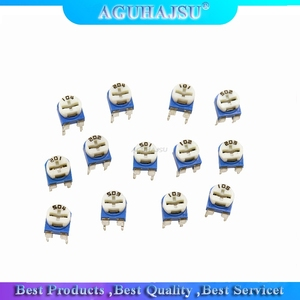 13 значений * 5 шт. = 65 шт., Потенциометр RM065, регулируемый резистор 100/200/500/1K/2K/5K/10K/20K/50K/100K/200K комплект потенциометров K/500K/1M|Потенциометры|   | АлиЭкспресс
