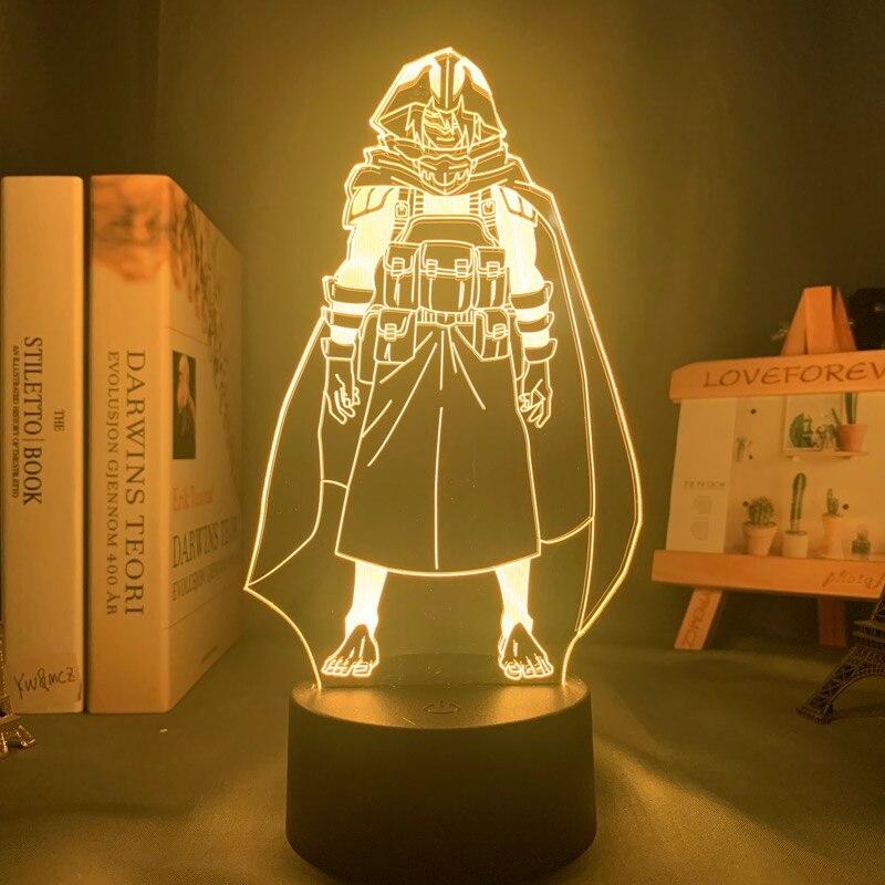 H59c5f649b5204aa49347a1454e3e844bQ Luminária My Hero Academia Boku no Hero Academy Anime meu herói academia amajiki tamaki conduziu a lâmpada luz da noite para o quarto deco presente de aniversário amajiki tamaki 3d lâmpada meu herói academia