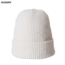 SUOGRY Winter Beanie Hat For Women Girl s Wool Skullies Beanies Glittering Silk Knitted Gorro Cap