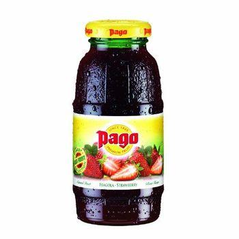 Succo di frutta Pago Strawberry 12x20cl
