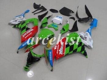 New ABS Motorcycle Full Fairings Kit Fit For Kawasaki Ninja ZX-10R 2008 2009 2010 08 09 10 10R bodywork set Cool Number 84