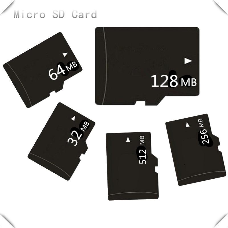 HOT!!! 5pcs/lot 32MB 64MB 128MB 256MB 512MB 1GB 2GB 4GB 8GB Micro Sd Card TF CARD Genuine Microsd Memory Card (Secure Digital)