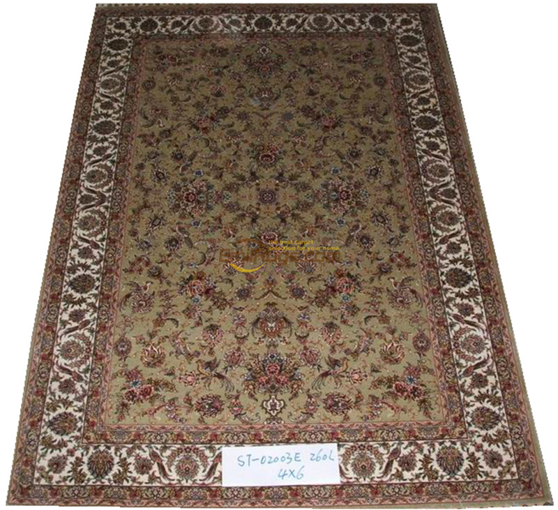 Silk Persian Rug Oriental Rugs Handwoven Carpets For Living Room Pattern St-0803a260l
