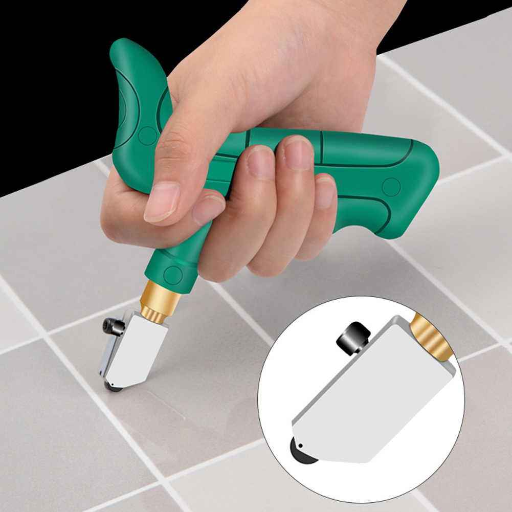 Handheld Grip Tile Cutter Glass Cutter Divider Opener Breaker Quick Opening Set Aluminium Alloy For Glass Tiles