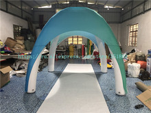 Sale of 3 meters outdoor advertising tent, PVC inflatable closed spider tent, inflatable parking shed cute inflatable advertising duck