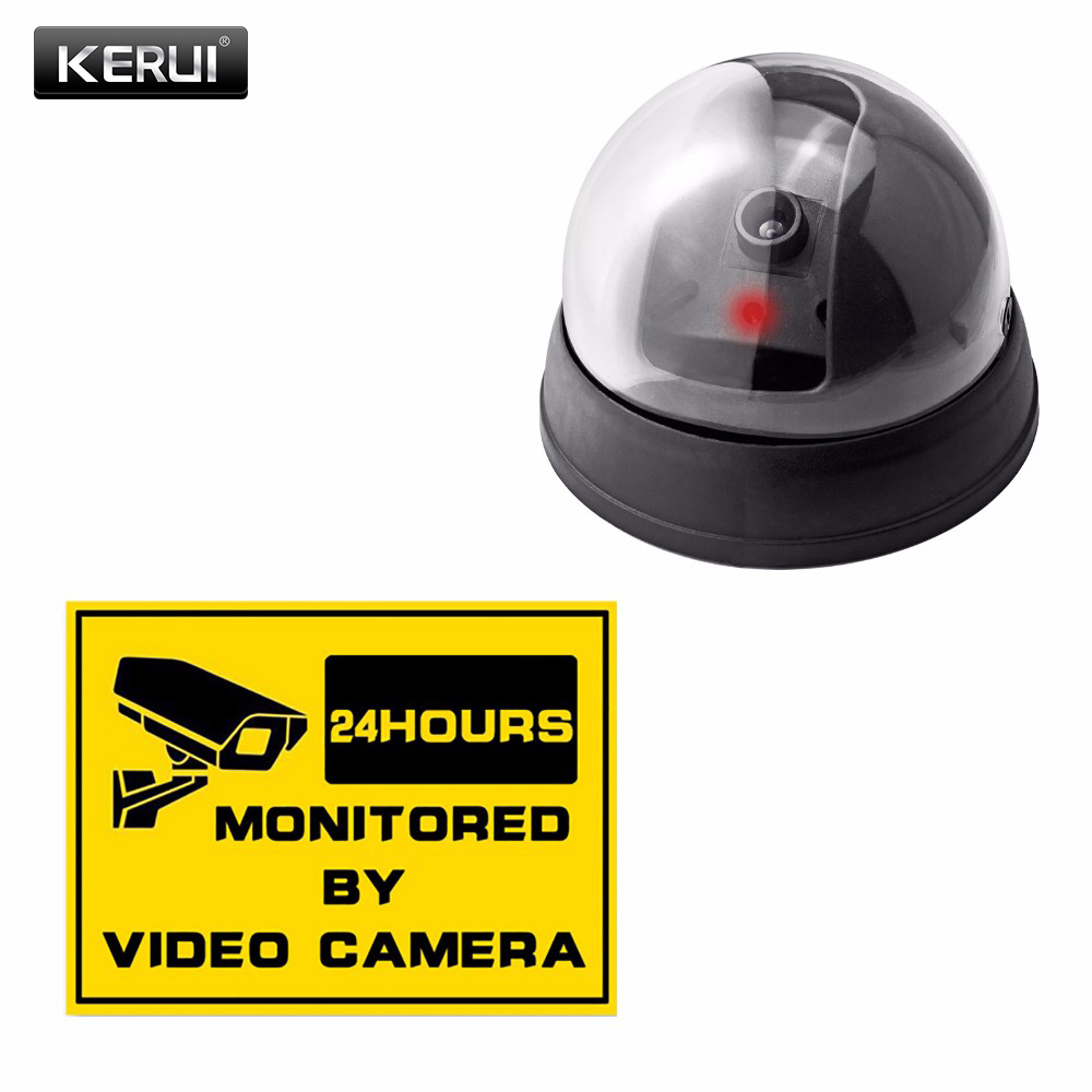 Wireless Home Security Fake Camera Surveillance Indoor/outdoor Waterproof IR CCTV Dummy Dome Fake Surveillance Security Camera