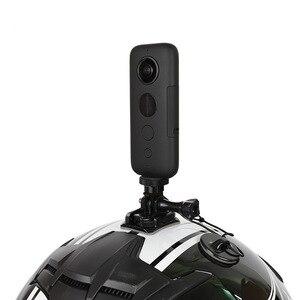Image 5 - Aluminium 1/4 Inch Statief Adapter Fixed Base Mount Houder Voor Insta360 Een X Xiaomi Yi 4K Mijia Sony Sport camera Accessoires