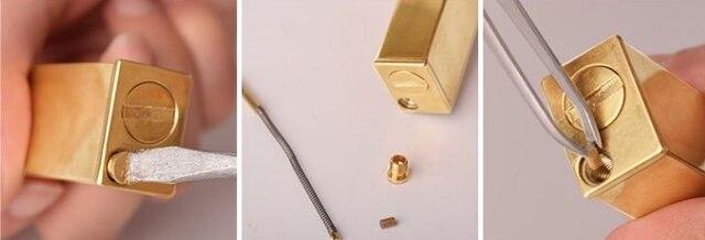 Sideslip Oblique Rrubbing Handmade Brass Camel Antique Kerosene Lighter5