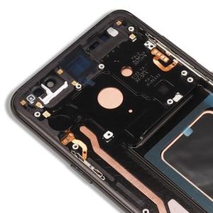 Image 5 - 100% Super AMOLED เปลี่ยนสำหรับ SAMSUNG Galaxy S9 S9 + จอแสดงผล LCD หน้าจอสัมผัส Digitizer G960 G965 S9 PLUS LCD