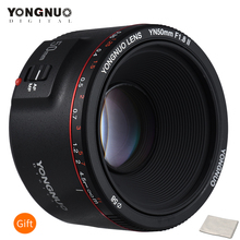 YONGNUO YN50mm F1.8 השני תקן ראש עדשת גדול צמצם אוטומטי פוקוס 0.35 הקרוב ביותר מוקד אורך עבור Canon EOS 5DII 5 5DIII 5DS 5DSR