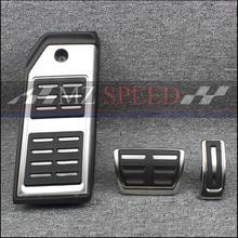 Автомобильные аксессуары для Audi New Q7 топливная Тормозная подставка для ног на педаль пластина ускоритель ремонт колодки декоративные наклейки