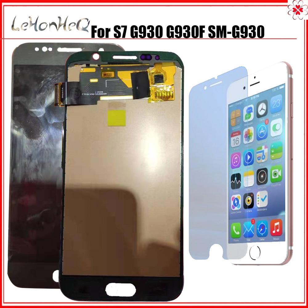 Pour Samsung Galaxy S7 G930 G930F G930A G930P G930V écran tactile numériseur assemblée LCD pour Samsung S7 G930 G930L LCD