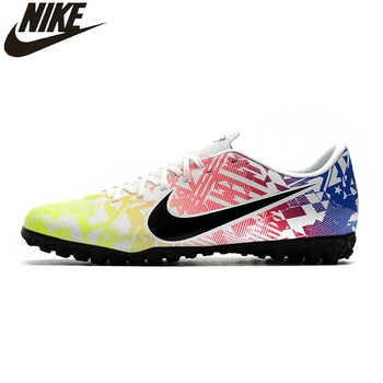 soccer shoes for men turf football boots child breathable cheap soccer cleats male football sneaker light mens soccer shoes Nike Mercurial Vapor 13 Academy TF Soccer Boots Sneakers Men Soccer Cleats Turf Shoes Boots Low Tacos De Futbol Football Shoes