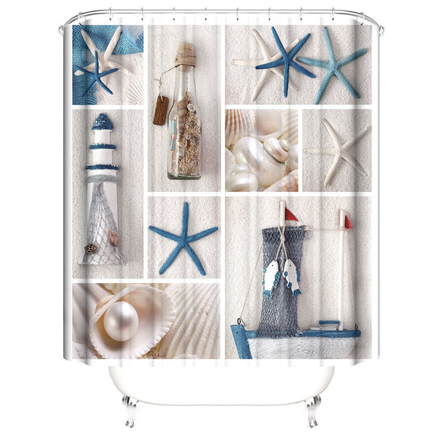 Shower Curtain 180cm 4