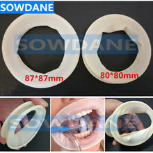 Desechable Dental labios y mejillas abridor de boca látex dique de goma Oral para Blanqueamiento Dental Retractor de ortodoncia Dental(China)