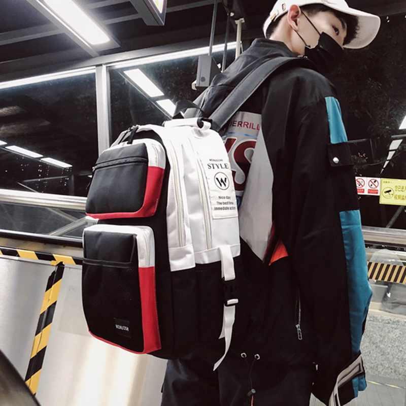 Litthing унисекс сумки подростковый туристический рюкзак для женщин большой емкости мужская школьная сумка высокого качества Sac школьная сумка на спину 2019