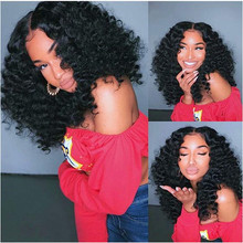 Fake Scalp PU Silk Base Lace Front Wigs Human Hair Pre Plucked Brazilian Kinky Curly With Baby Hair130 Density Natural Hair Wigs