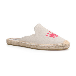 Image 3 - Tienda Soludos Espadrilles Slippers For Flat Shoes 2019 Promotion New Arrival Hemp Summer Rubber Mules Slides Zapatos De Mujer