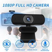 New Full HD 1080P High Pixels USB Webcam Built-in Microphone