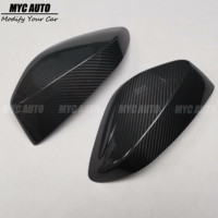 For 2012 2015 Toyota GT86 GT 86 Subaru BRZ Scion FR S FRS Add On Style Carbon Fiber Side Mirror Cover Cap Real Carbon Fiber