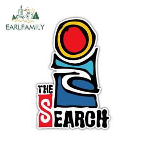 EARLFAMILY 13cm x 8.6cm Funny Car Stickers Rip Curl for The Search Logo Car Accessories Laptop Motorcycle Fine Waterproof Decal