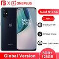 В наличии OnePlus Nord N10 5G Snapdragon 690 мобильный телефон 6 ГБ Оперативная память 128 Гб Встроенная память 64-мегапиксельная четырехъядерная камера 6,49