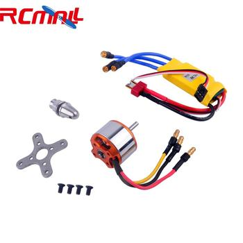 XXD A2212 1000KV Brushless Motor with Banana Connector +30A Brushless ESC Electronic Speed Controller with T-Plug RCmall hubsan x4 pro h109s a esc electronic speed controller with cable
