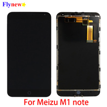 "5.5"" Original LCD For Meizu M1 Note LCD Display Touch Screen Digitizer For Meilan Note M463U Cellphone Assembly with Frame Parts"