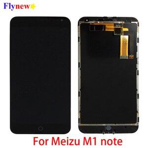 """Image 1 - 5.5 """"oryginalny LCD do Meizu M1 uwaga wyświetlacz LCD z ekranem dotykowym Digitizer do Meilan Note M463U montaż telefonu komórkowego z częściami ramy"""