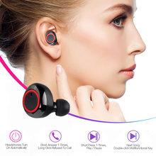 Écouteurs intra-auriculaires Bluetooth Y50 TWS, oreillettes sans fil, stéréo, commande tactile, avec câble de chargement USB