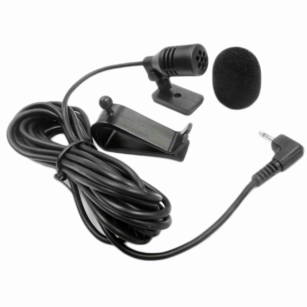 2,5 мм налокотник моно Авто DVD Радио Bluetooth Автомобильный микрофон вставной Тип громкий динамик
