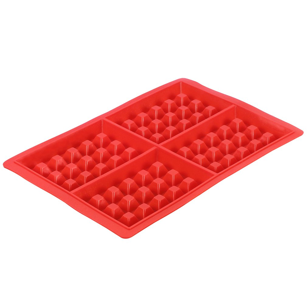 DIY High-temperature Baking Heart Shape Silicone Waffle Mold Cake Mould Non-stick Kitchen Bakeware Cooking Tool