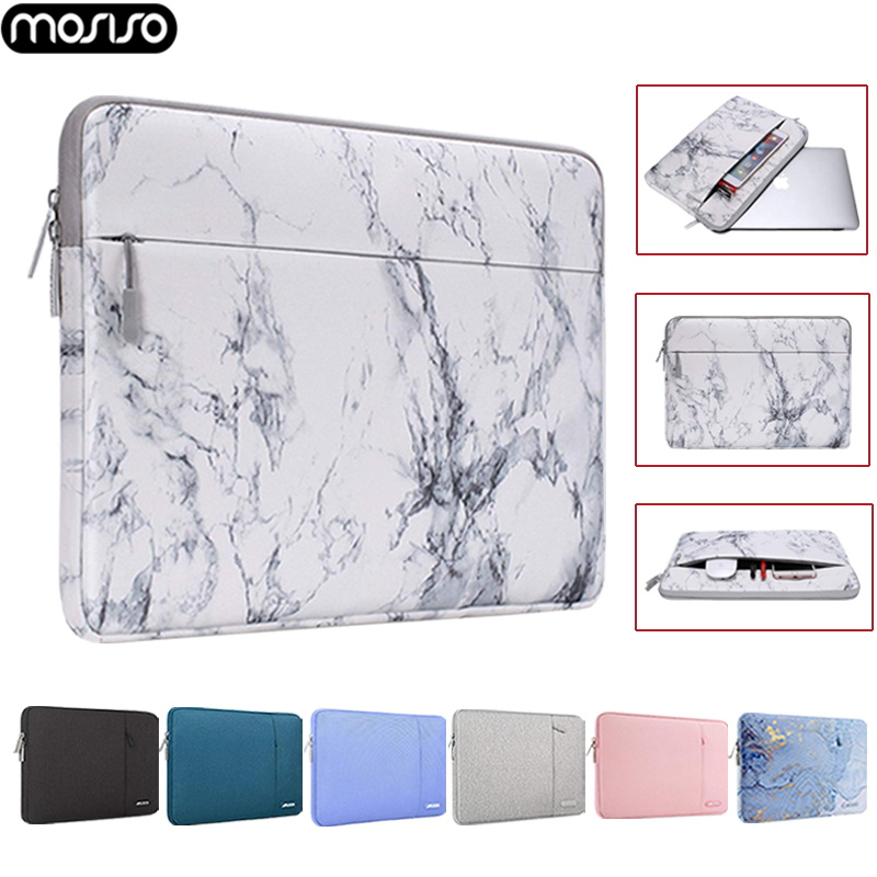 MOSISO Laptop Sleeve Bag 11.6 12 13.3 14 15.6 Inch Laptop Bag Case For Macbook Dell HP Asus Acer Lenovo Notebook Sleeve Cover