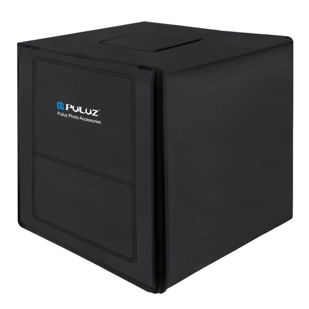 PULUZ 80cm Foto Studio Softbox EU Stecker Leuchtkasten Weiß Licht Foto Beleuchtung Studio Schießen Zelt Box Kits & Fotografie hintergrund