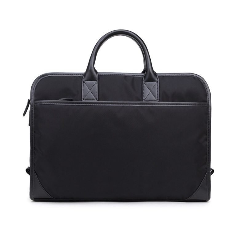 New File Bag Waterproof Minimalist Nylon Male Business Briefcase Computer Bag Handbag Tide