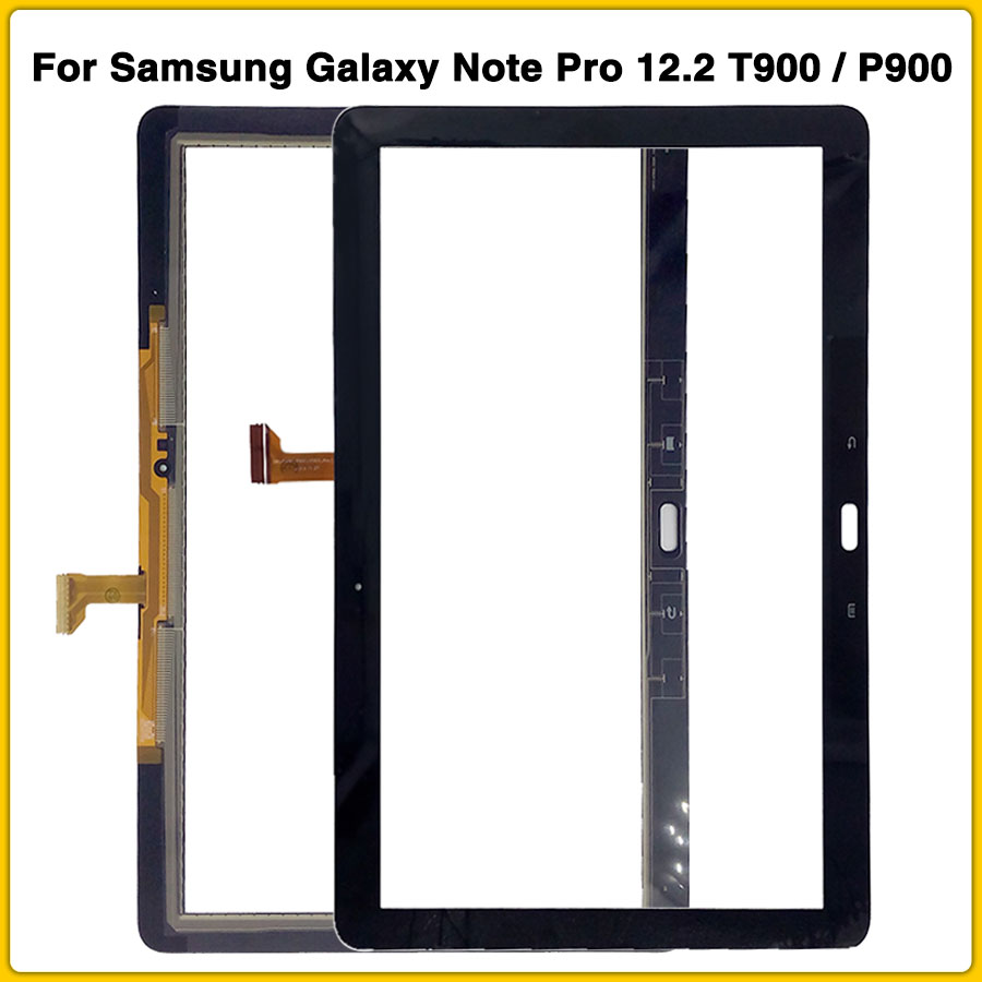 New T900 touchscreen For Samsung Galaxy Note Pro 12.2 T900 / P900 Touch Screen Panel Digitizer Sensor LCD front Glass